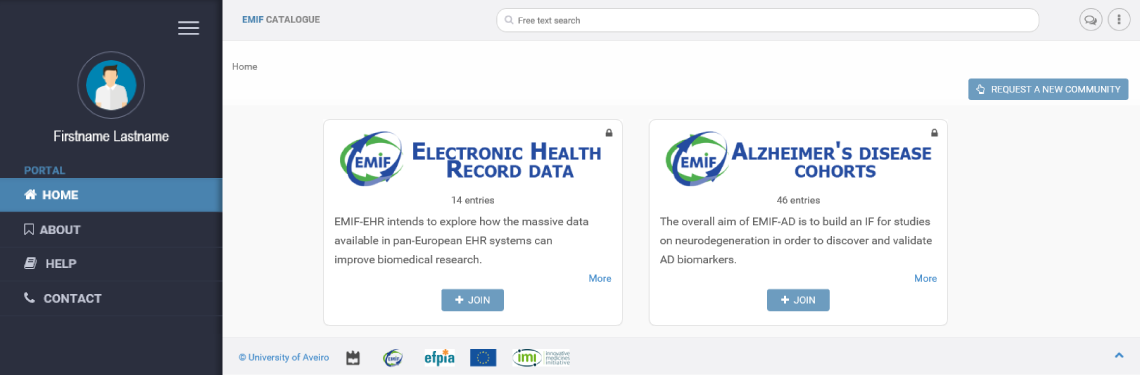 EMIF Data Catalogue